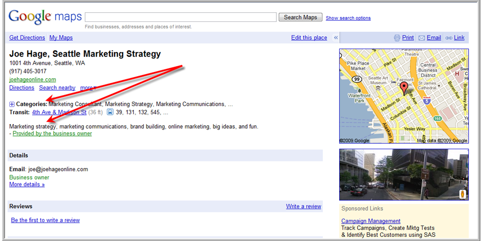 """Maybe I should use """"Seattle Online Marketing"""" instead?"""